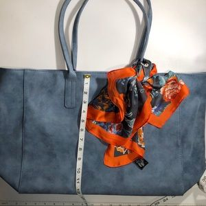 Saks Fifth Avenue Tote Bag and Scarf